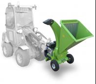 Навесной садовый щепорез с двигателем Kohler LS 95/CH - навесной