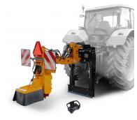 Прицепной измельчитель пней за трактор с дистанционным управлением FZ 560 T - RC