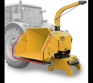 Высокопроизводительный щепорез к трактору с поворотным и прицепным устройством для прицепа 8 т LS 160 TT (1000 об/мин)