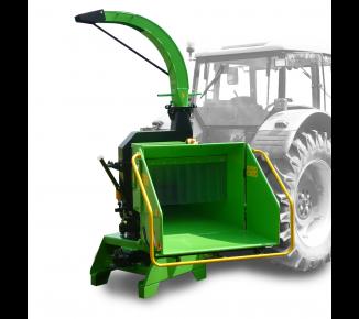 Щепорез к трактору с поворотным и прицепным устройством для прицепа 8 т  LS 200 T (750 ÷ 1000 об/мин)