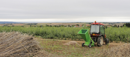 Садовый щепорез к минитрактору LS 95 T (540 об/мин)