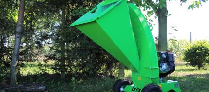 Навесной садовый щепорез с двигателем Honda LS 95/GX - навесной