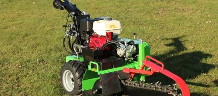 Траншеекопатель с гидроприводом и двигателем Honda TR 60/13 HC