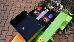 Ручной фрезерный измельчитель пней с электрическим ходом F 460E/27