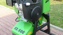 Фрезерный измельчитель пней FZ500/38 с ДВС для навески к строительным машинам FZ 500/38