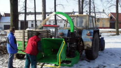 Измельчитель веток LS 150 T (1000 об/мин)