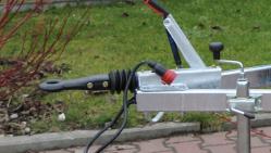 Щепорез бензиновый на шасси с тормозной системой  LS 150/38 CB