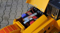Ручной фрезерный измельчитель пней с электрическим ходом F 460EI