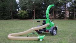 Прицепной садовый пылесос VD 500 P