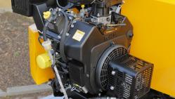 Высокопроизводительный бензиновый щепорез на шасси с тормозной системой LS 160 PB